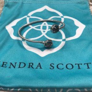 Kendra Scott silver pinch bracelet